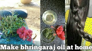 How To Make Bhringaraj Oil At Home