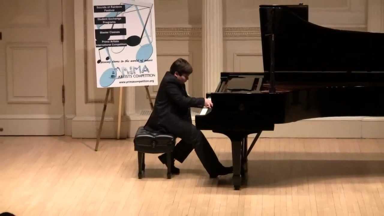 Download Eleven year old Grand Prize winner, Deniz Akman, plays Rachmaninoff Prelude