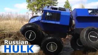 ATV EAGLE 8 - Mega Big Foot, King of Off-Road, Amphibian