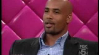 Boris Kodjoe on The Wendy Williams Show 8-19-2008 part 1