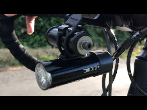 Cycling How To ! Make A Light Bracket!