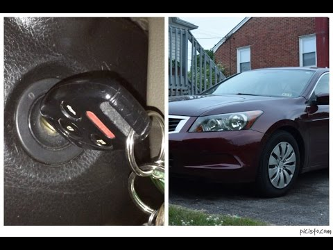 Honda accord key programming