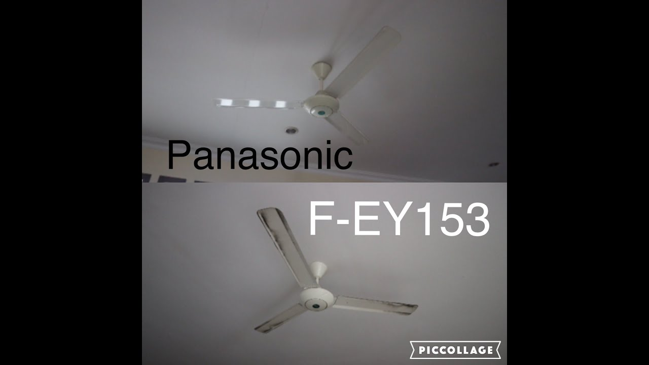 "2 Panasonic 60"" industrial ceiling fans"