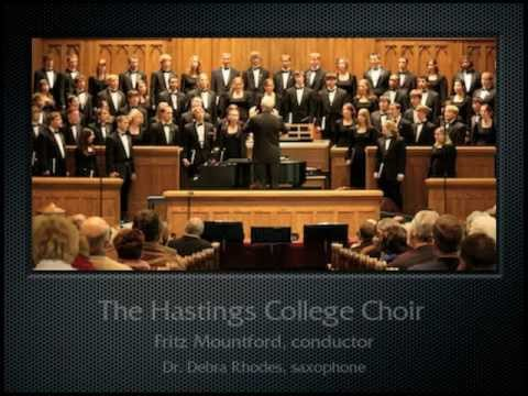 Effinger: No Mark (the Hastings College Choir)