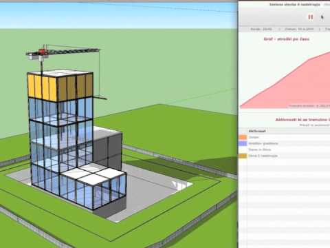 OnTime5D short promo - 4D and 5D simulation of building process