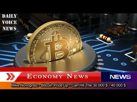 Mike Novogratz - Bitcoin Price Up - Can Hit The 30 000 $ - 40 000 $