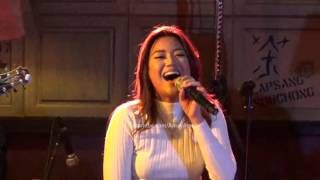 Morissette Amon O Holy Night Acapella Impromptu Sample at the Coffee Bean for Stages Sessions