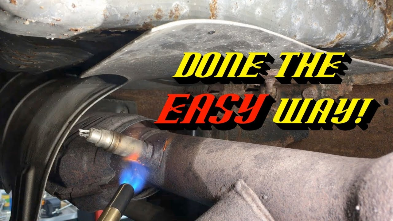 2004 Ford Escape Oxygen Sensor Location Quick Tips 81 Removing Rusted Stuck Sensors The Easy Way