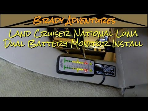 Land Cruiser National Luna Dual Battery Monitor Install - YouTube on dual battery charging system diagram, galvanic isolator wiring diagram, boat battery charger wiring diagram, rv battery isolator diagram, kinetik battery wiring diagram, parallel battery wiring diagram, battery switch wiring diagram, battery isolation solenoid wiring diagram, drill wiring diagram, two battery wiring diagram, rv battery hook up diagram, radio wiring diagram, rv battery wiring diagram, dual battery switch, 12 volt isolator wiring diagram, trickle charger wiring diagram, battery isolator circuit diagram, motorhome battery wiring diagram, multi battery isolator diagram, isolator switch wiring diagram,