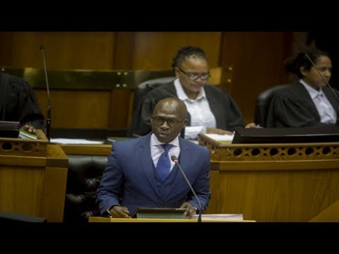 """south africans should ignore economic doom and gloom"" - malusi gigaba"