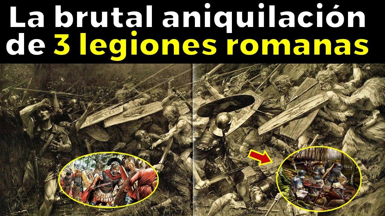Esto fue la PEOR HUMILLACIÓN PARA LAS LEGIONES ROMANAS: El desastre de Varo