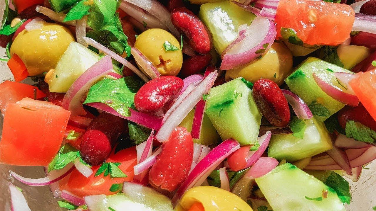 Самый Полезный Салат с Красной Фасолью. Крепкое Здоровье