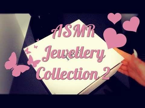 ASMR Jewelery Collection Show & Tell 2 soft spoken/whisper