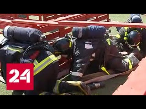 Lagu Video Преодолеть огненную полосу: в Москве проходят соревнования пожарных - Россия 24 Terbaru
