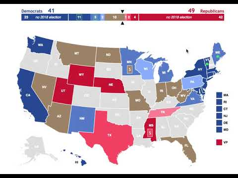 2018 April Senate Election Predictions | Midterms Today