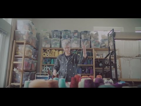 Jane Kidd, artiste en textiles et lauréate du Conseil des arts – film de Black Rhino Creative