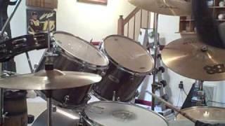 Megadeth Paranoid Drum Cover
