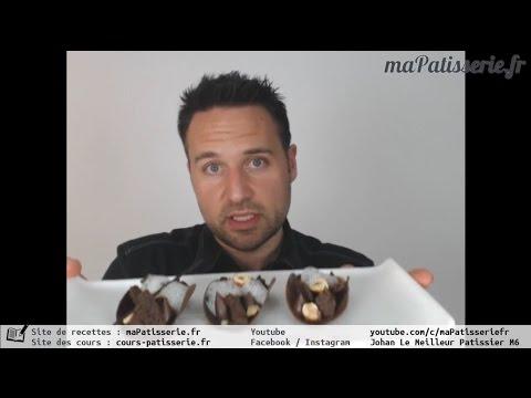 Cours de pâtisserie gratuit & direct : Tarte au chocolat revisitée par Johan