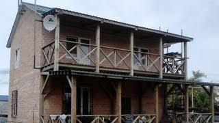 Самостоятельная облицовка дома из пеноблока терракотовой плиткой(, 2013-10-02T17:50:29.000Z)