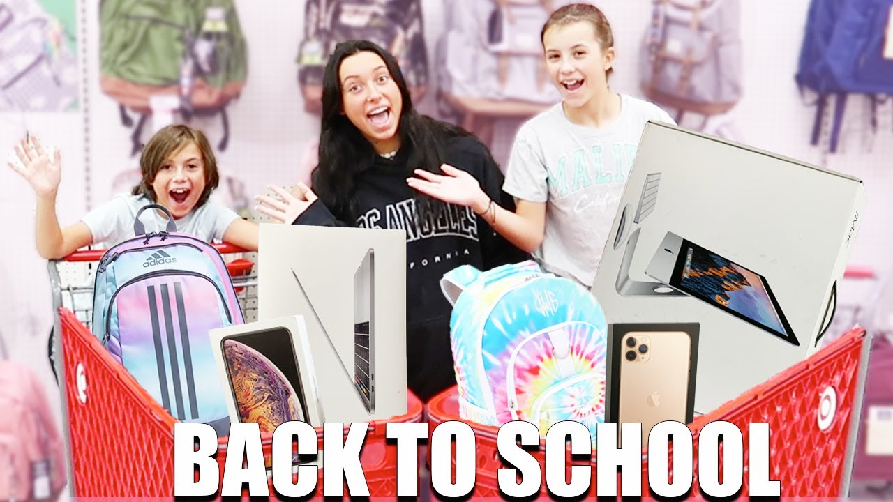BACK TO SCHOOL Shopping at TARGET!
