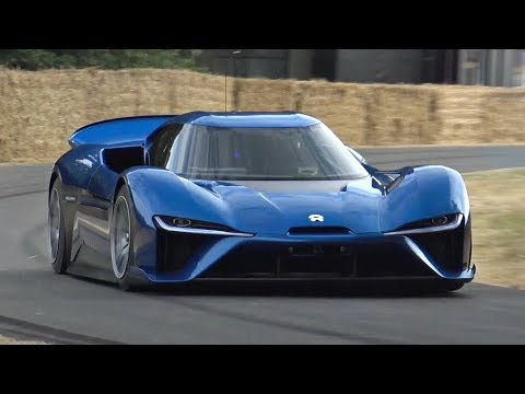 1360HP NIO EP9 - World's Fastest Electric Road Car Driven FLAT OUT @ Goodwood! - INCREDIBLE SPEED!