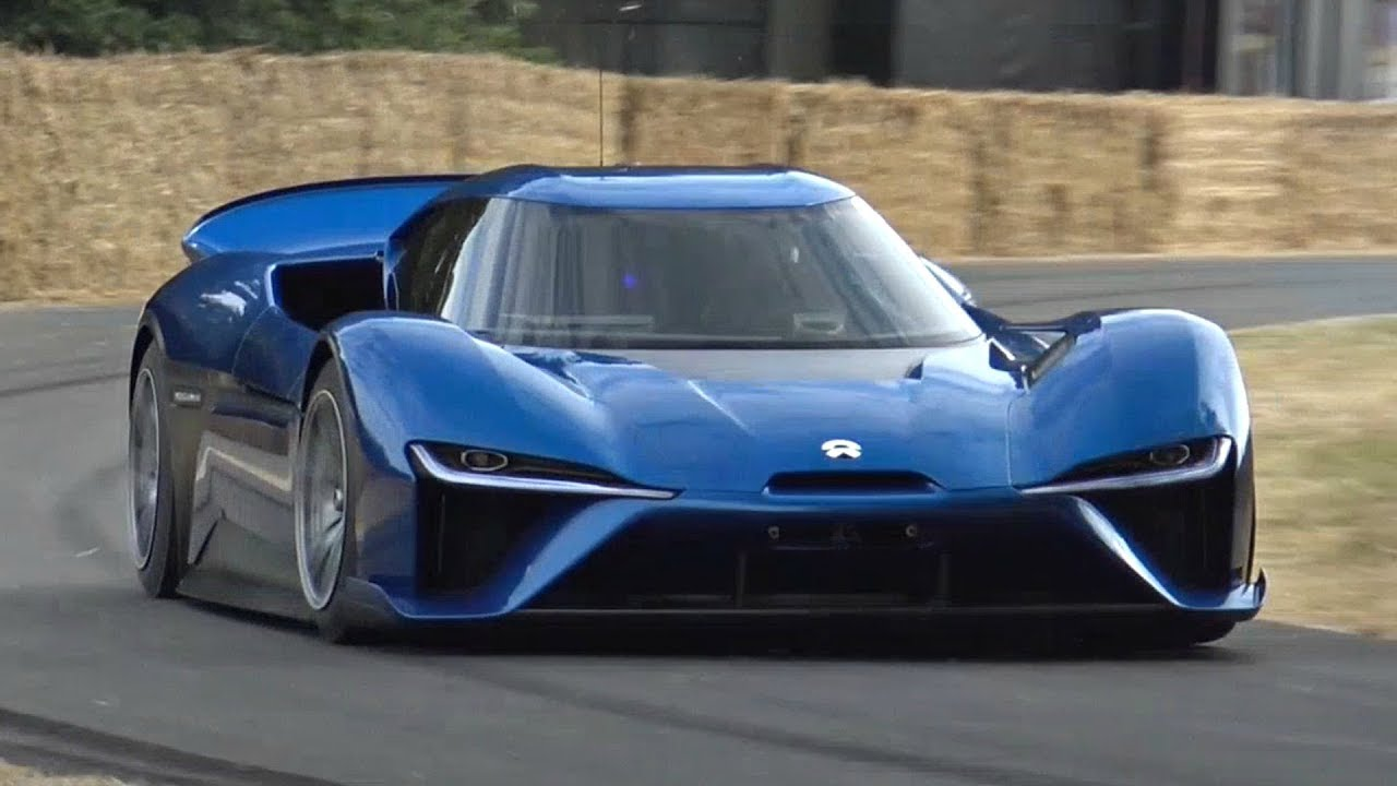 1360hp nio ep9 - world's fastest electric road car driven flat out