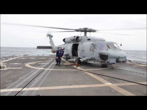 SH-60B Sea Hawk Prepares to Take Off From the Oliver Hazard Perry | AiirSource