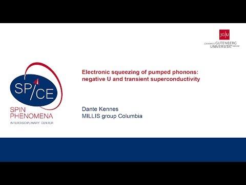 Talks - Non-equilibrium Quantum Matter - Dante Kennes, MILLIS group Columbia
