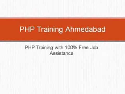 free php training with job in ahmedabad