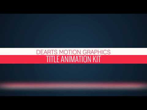adobe after effects title templates free - 181 title animations after effects project videohive