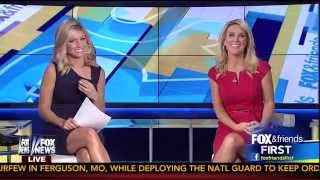 Ainsley Earhardt & Heather Childers 08-19-14