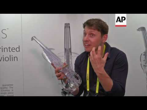 3D printed violin offers a sound of the future