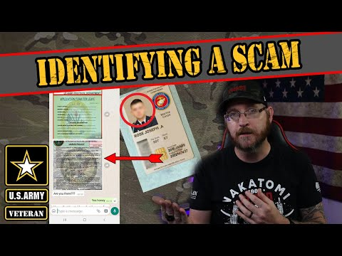 How you can Identify a military romance scam from YouTube · Duration:  19 minutes 25 seconds