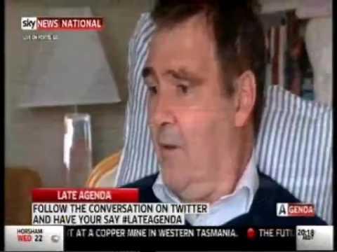 Sky News:  Michael Boyer interviewed by Helen Dalley
