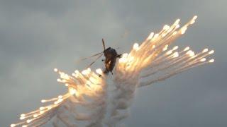 Westland Sea King HC4 Flares Massive at RNAS Yeovilton Air Day 2015