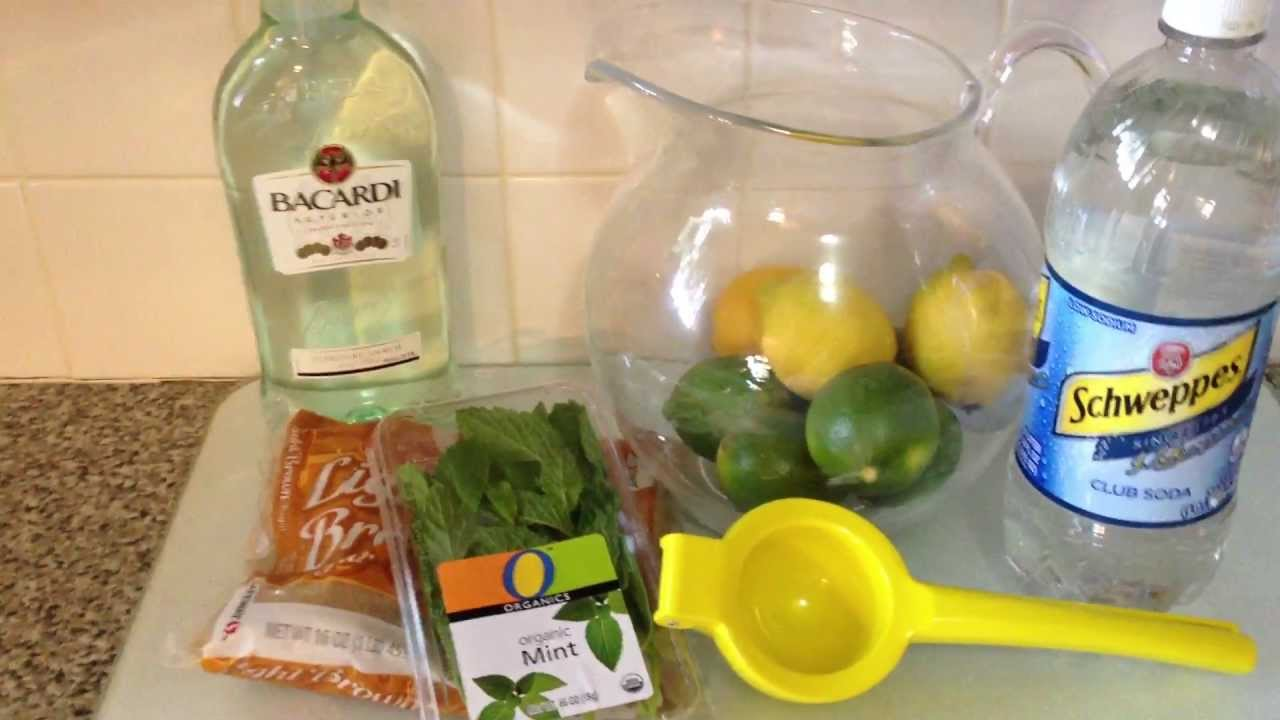 Mojito pitcher recipe youtube forumfinder Images