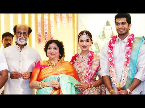Rajinikanth's Daughter Soundarya Marriage Video | Soundarya And Vishagan Vanangamudi's Wedding
