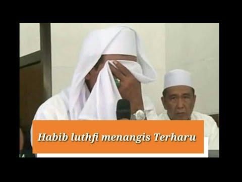 Habib Luthfi Meneteskan Air Mata Di Hadapan Jamaah Narapidana