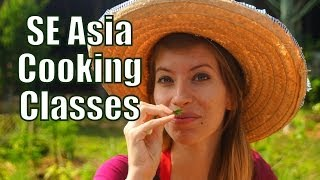 Asian Food Cooking Classes in Southeast Asia