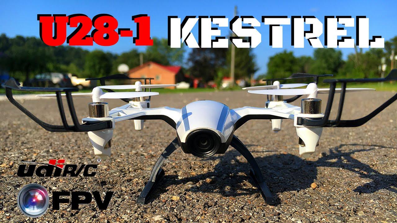 UDI Kestrel U28-1 FPV - YouTube