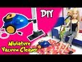 How to Make Barbie Doll Vacuum Cleaner - DIY Easy Doll Crafts - Making Kids Toys