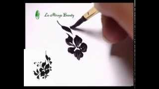 Рисунки на ногтях часть 1