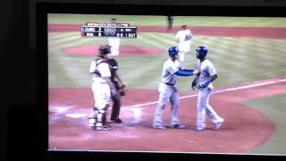 Chicago Cubs and Miami Marlins brawl