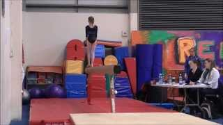 Siofra at the Regional Level 4 AA Competition