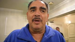 ABEL SANCHEZ REACTS TO FLOYD MAYWEATHER COMMENTS ON THE FIGHTERS ARE BEING OVERPAID