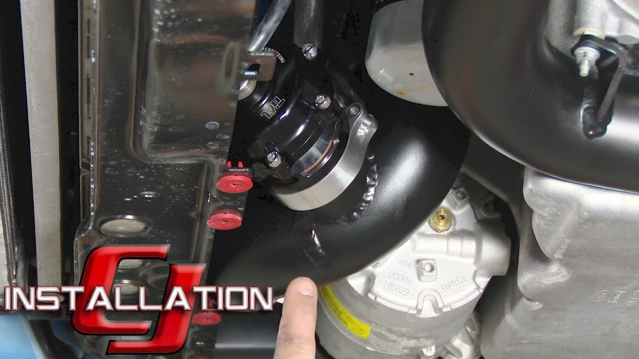 Focus rs cp e blow off valve kit exhale with black tial q blow off valve 2016 2017 installation youtube