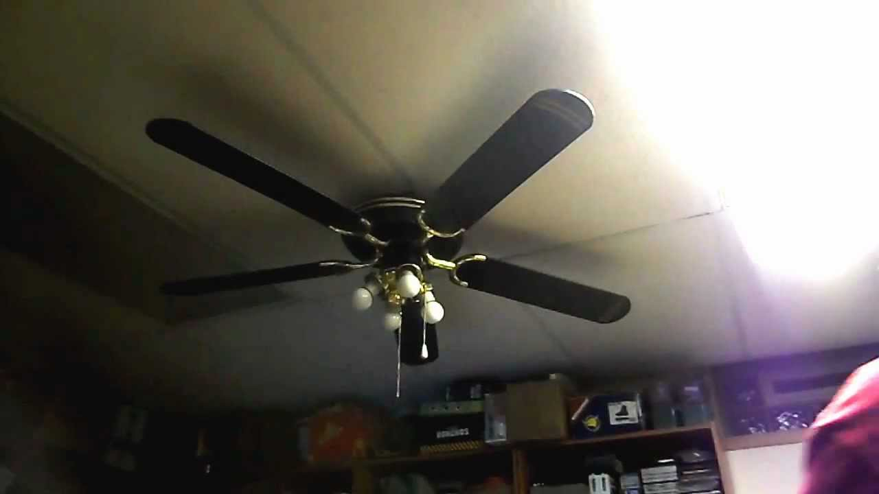 1992 Nadair 52 Ceiling Fan Model Tv25 0192 Youtube