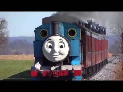 Strasburg Railroad Steam Engine & Day Out With Thomas