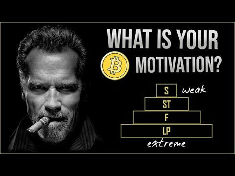 4 levels of motivation for crypto traders
