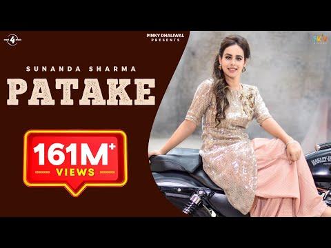 PATAKE (Full Video) || SUNANDA SHARMA || Latest Punjabi Songs 2016 || AMAR AUDIO